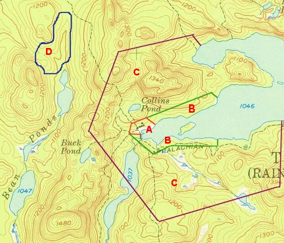 Typical Land Use Pattern Around Maine Sporting Camps