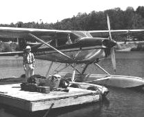Young Sportsman heading to Sporting Camp on Floatplane