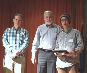 Teddy Roosevelt Maine Conservation Award Presented to Mathias Deming